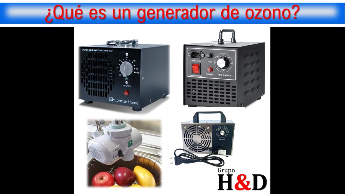 Qué es un generador de ozono