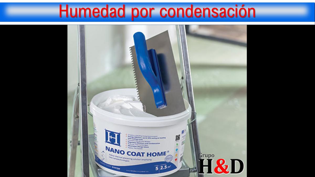 Nano Coat Home, humedad por condensación