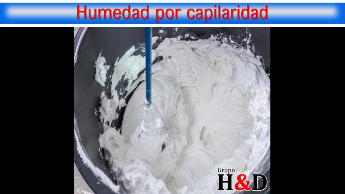 Humedad por capilaridad Galicia