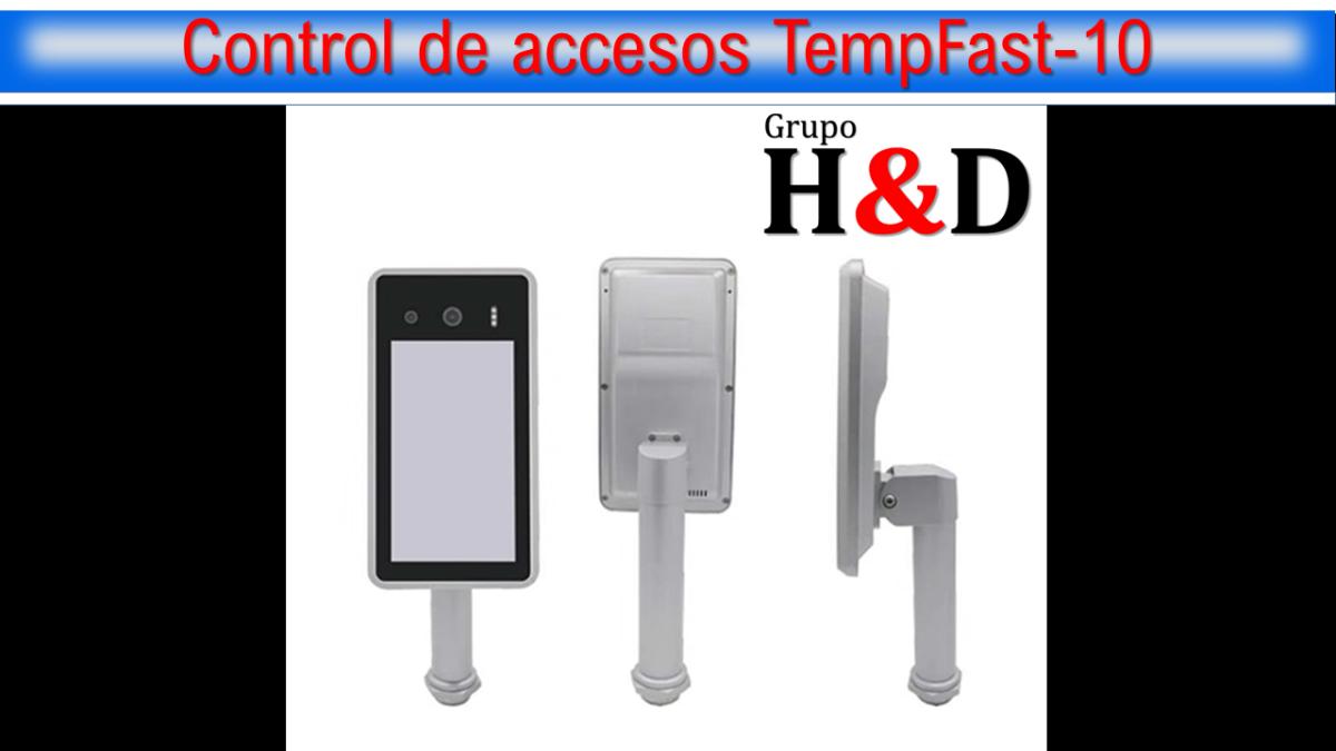Control de accesos TempFast-10