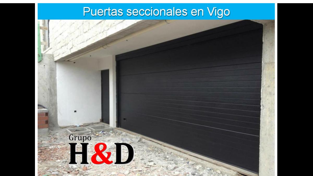 Puertas seccionales en Vigo
