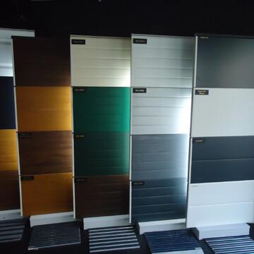 colores de puertas seccionales